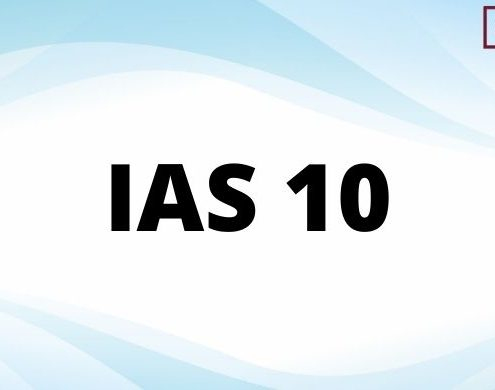 IAS 10 - Events After the Reporting Period